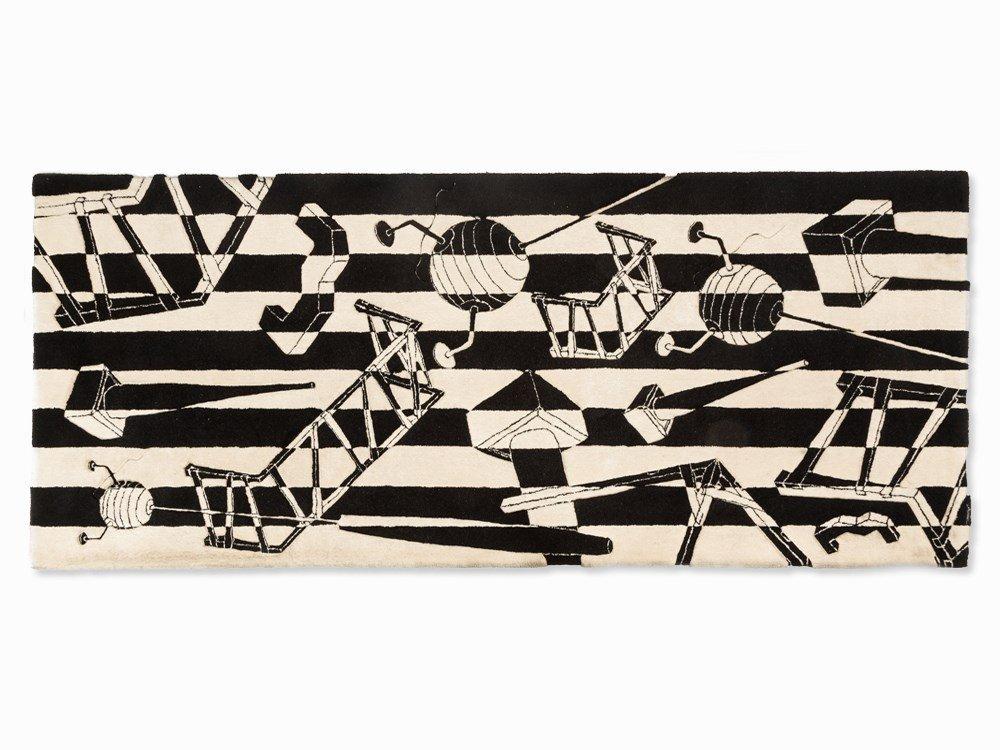 Vera Vermeersch, Tapestry with Jakob Weinand Motif,