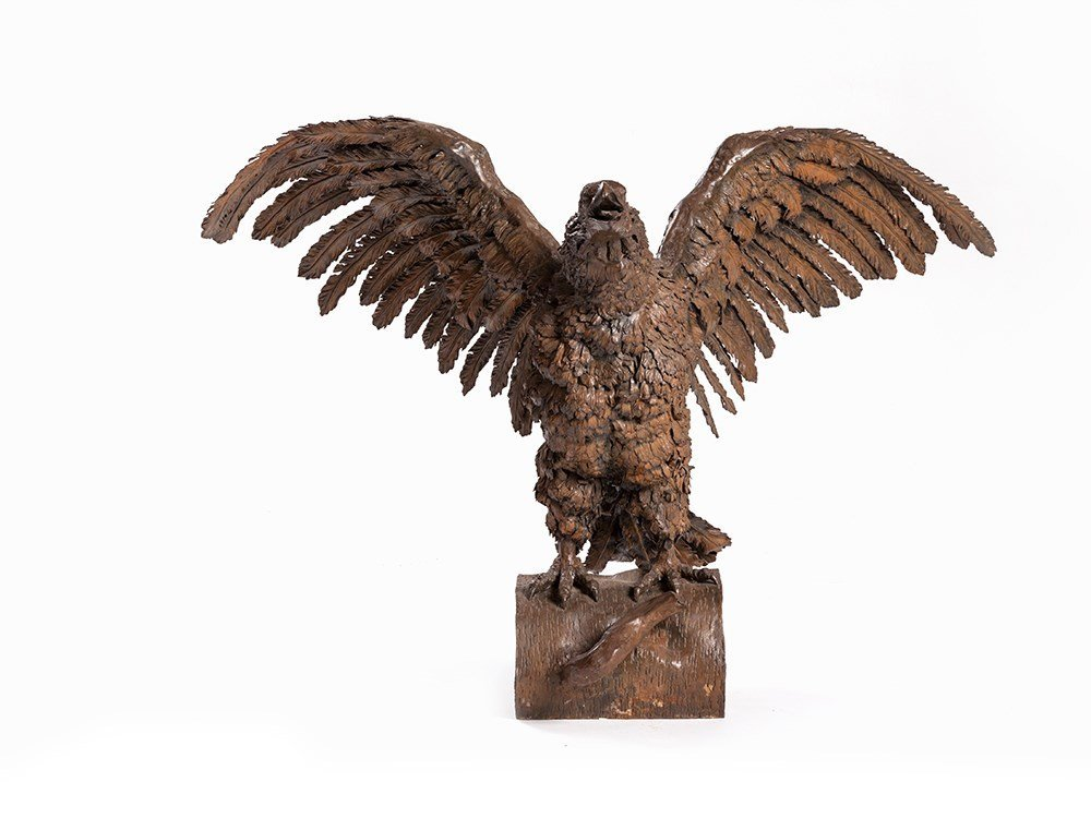 L. van Boeckel, A Large Figure of an Eagle, Belgium, c.