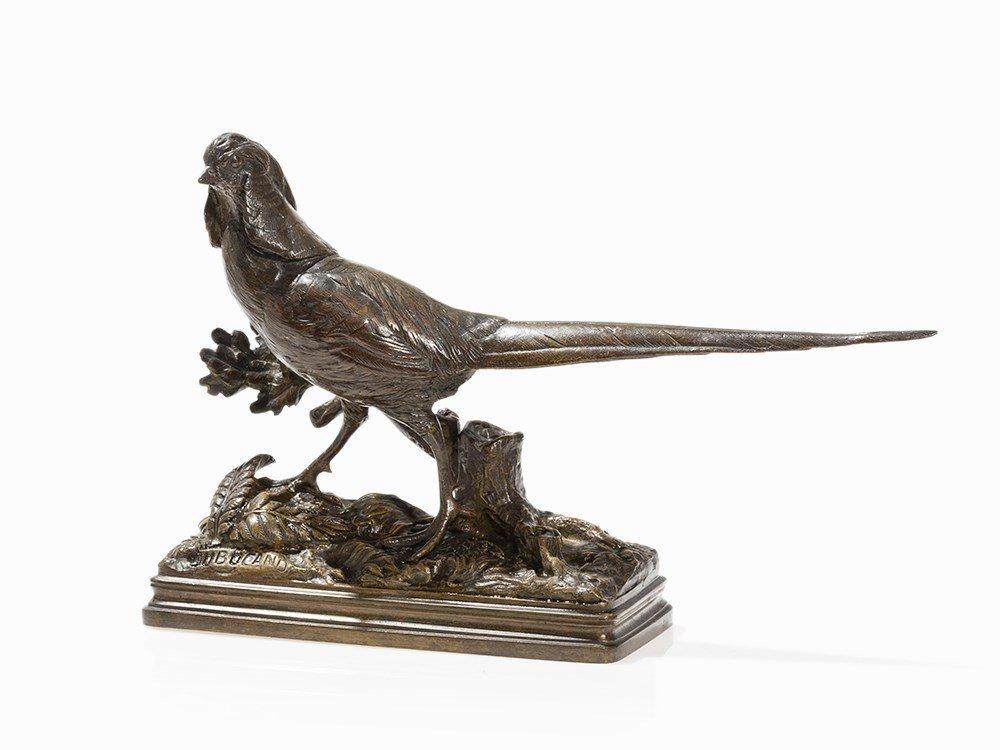 Alfred Dubucand (1828-1894), Pheasant, Bronze, 1880s