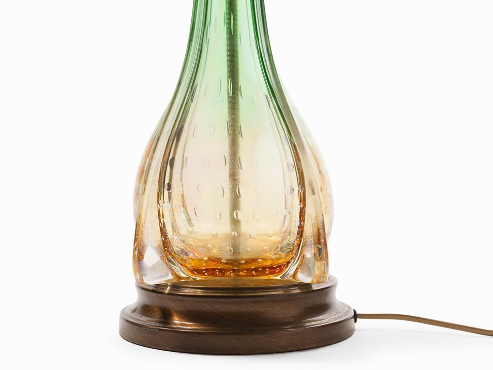 Venini, Lamp Stand made of Murano Glass, Venice, c. - 4