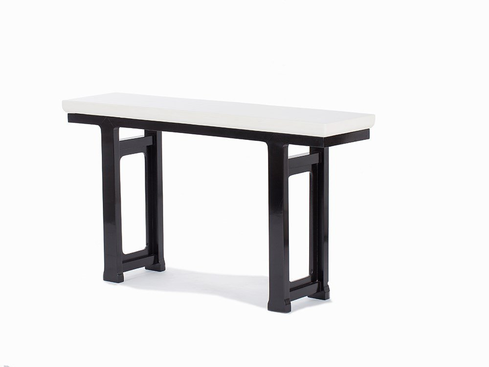 Robert Kuo, Lacquered-Wood Altar Table, USA, 2015