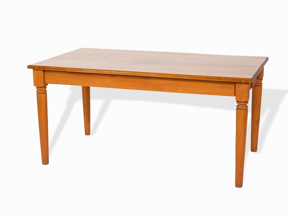 Günther Lambert, Large Cherry Dining Table, Germany,