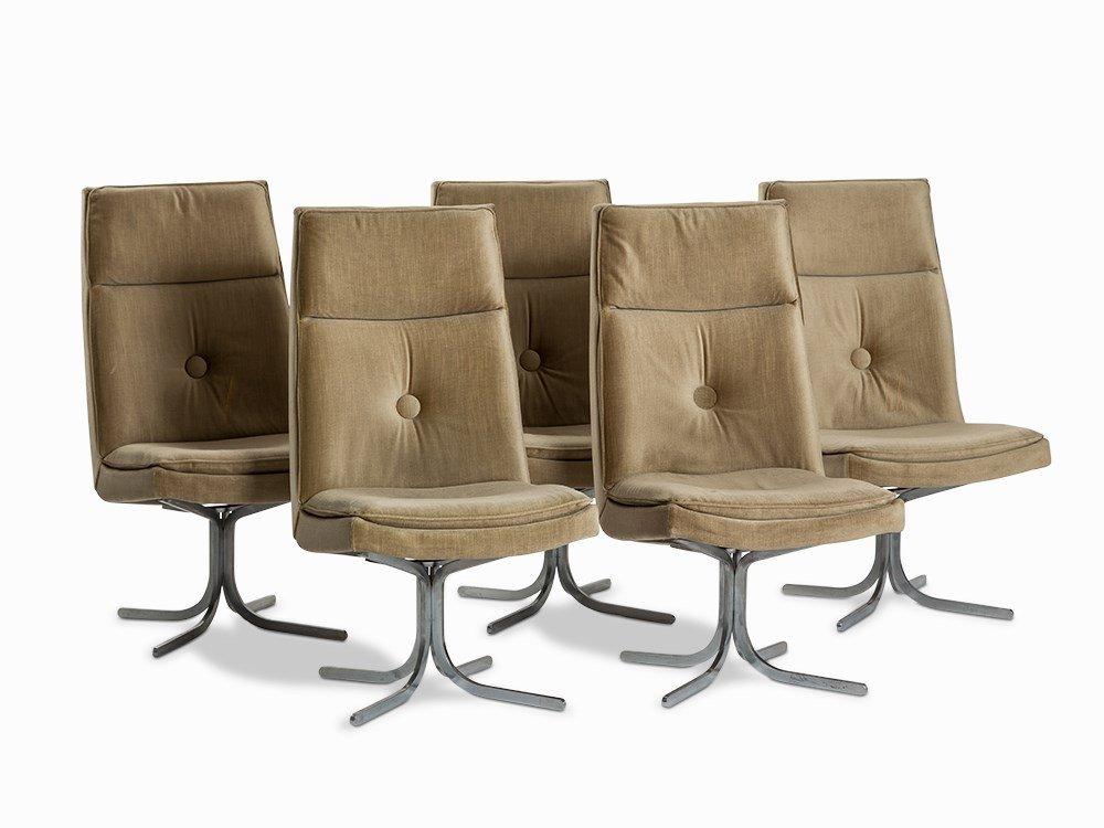10 Lounge Chairs, Germany, 1970s