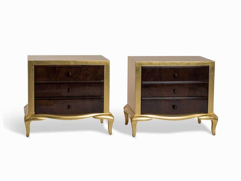 A Pair of Small Gilt Side Dressers, 2nd H. 20 C.
