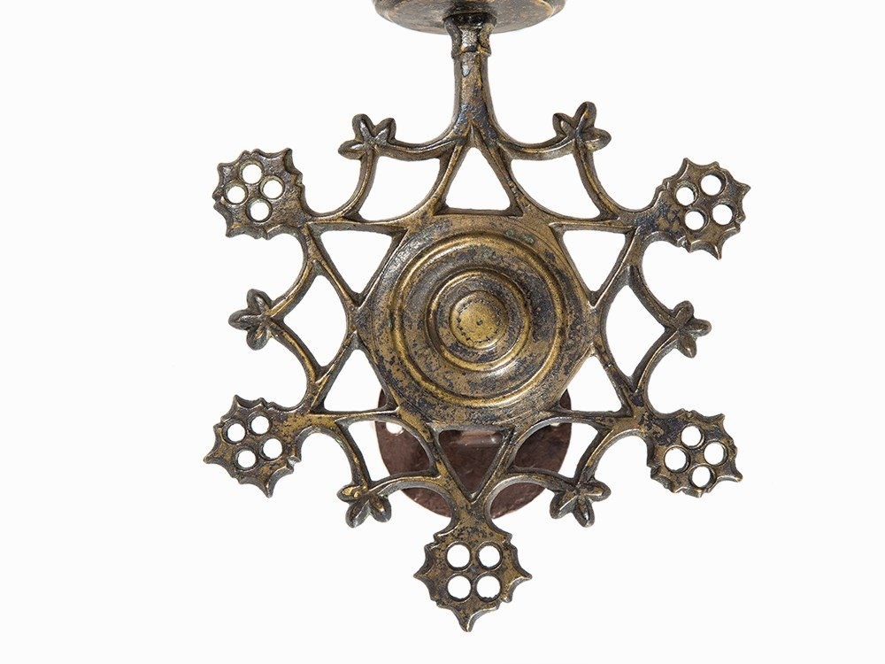 Sconce with Mounting, Flanders, 15th century