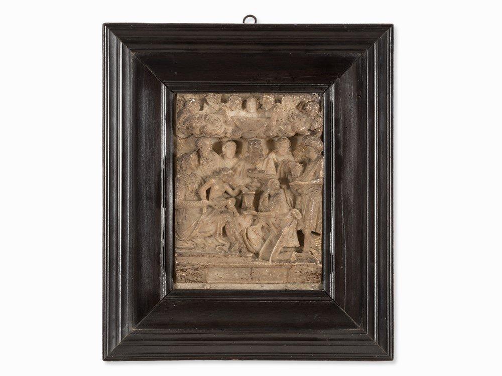Baroque Alabaster Relief, Mecheln, 17th C.
