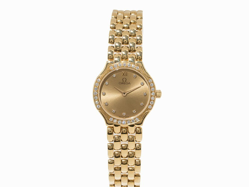 Omega DeVille Gold Lady's Watch, Ref. 7951520- 8951520,