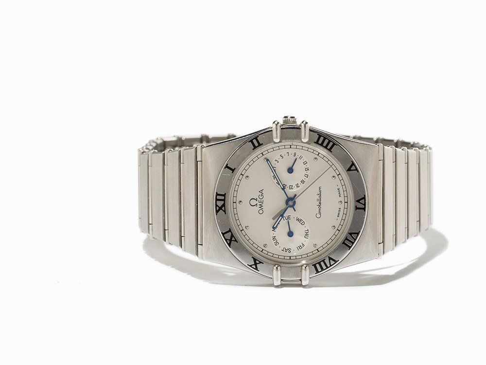 Omega Constellation Wristwatch with 12-hour Scale,