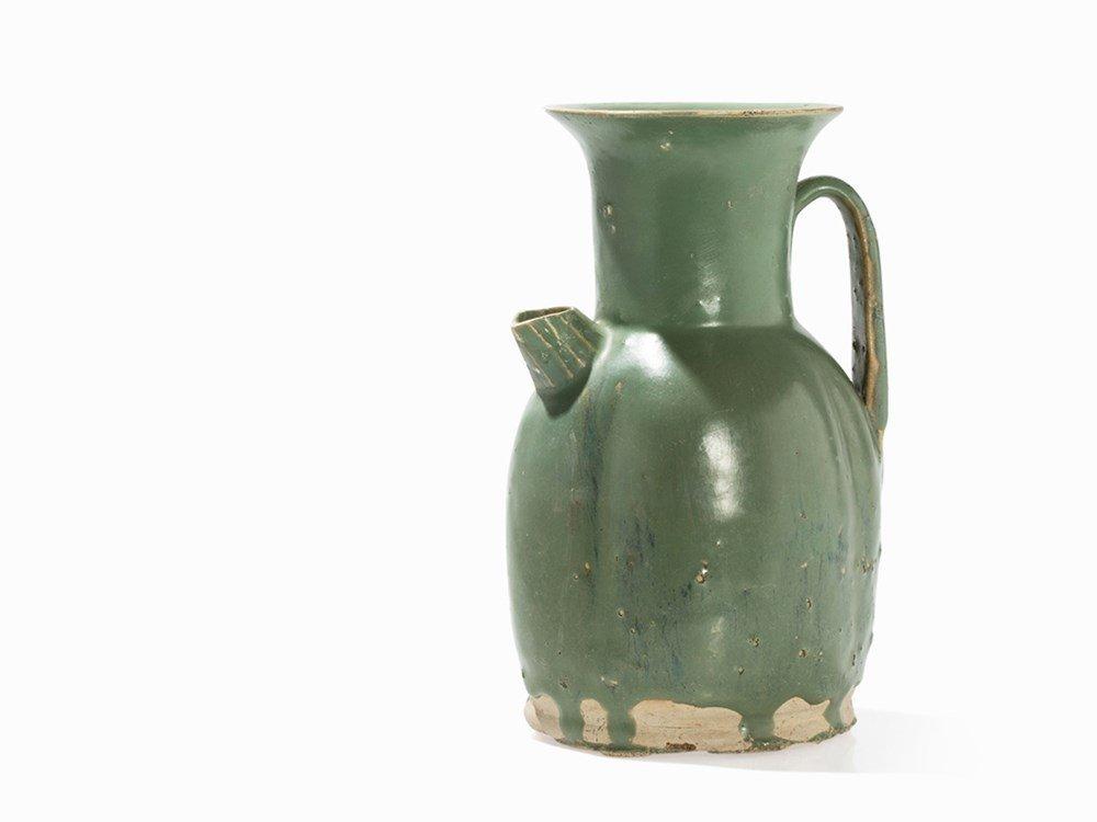 'Changsha' Green-Glazed Ewer, Tang, 9th C.