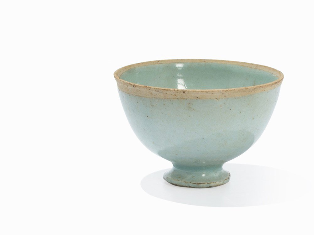 QingbaiWine Cup on High Foot, Song Dynasty, 11th-13th
