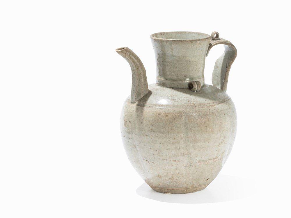 Qingbai Ewer, Song Dynasty, 11th-13th Century