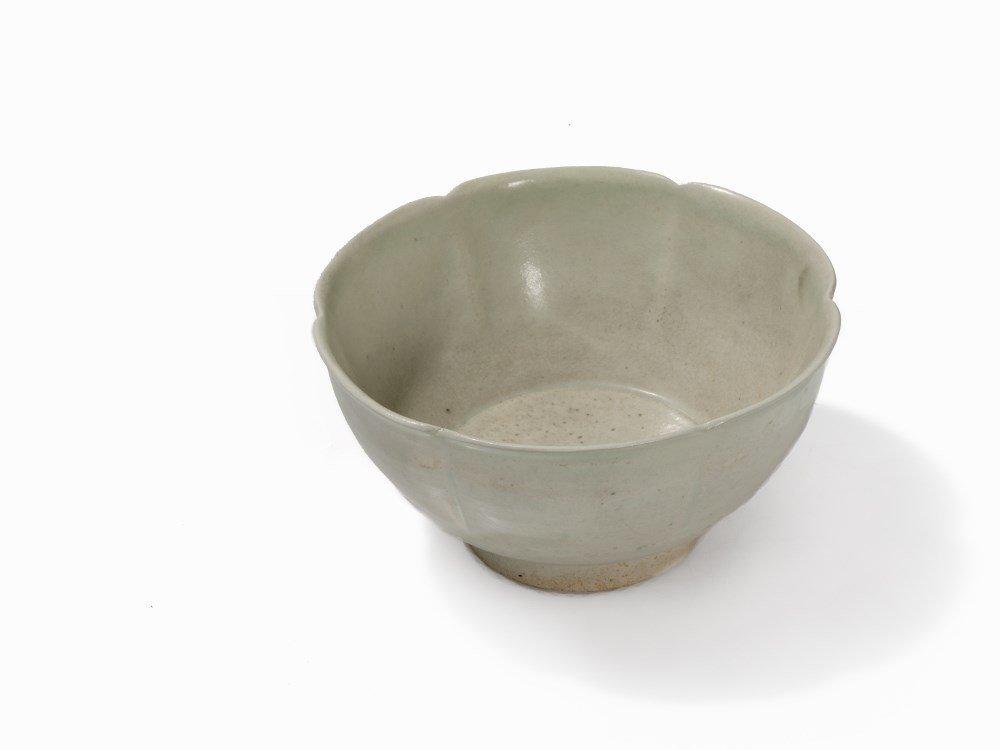 Six-Lobed Qingbai Bowl, Song, 11th-12th C.