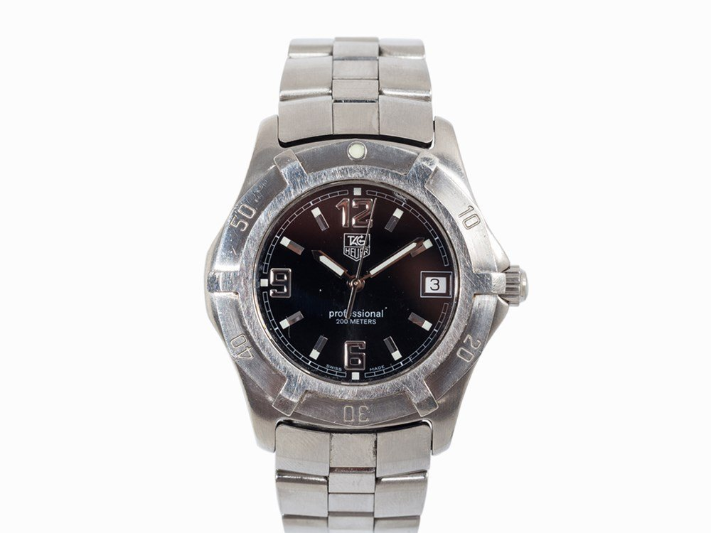 TAG Heuer Professional, Ref. WN1110, Switzerland, c.