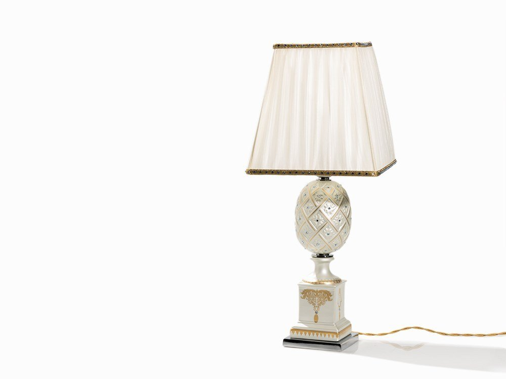 Mangani, Table Lamp with Swarovski Crystals, Italy,