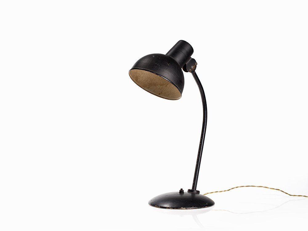 Christian Dell, Prototype Desk Lamp, Germany, circa