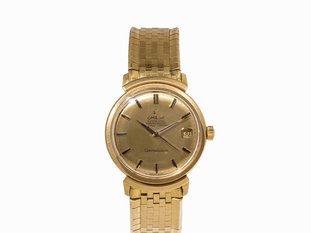 Omega Constellation Gold Chronometer, Ref. 168.002, c.
