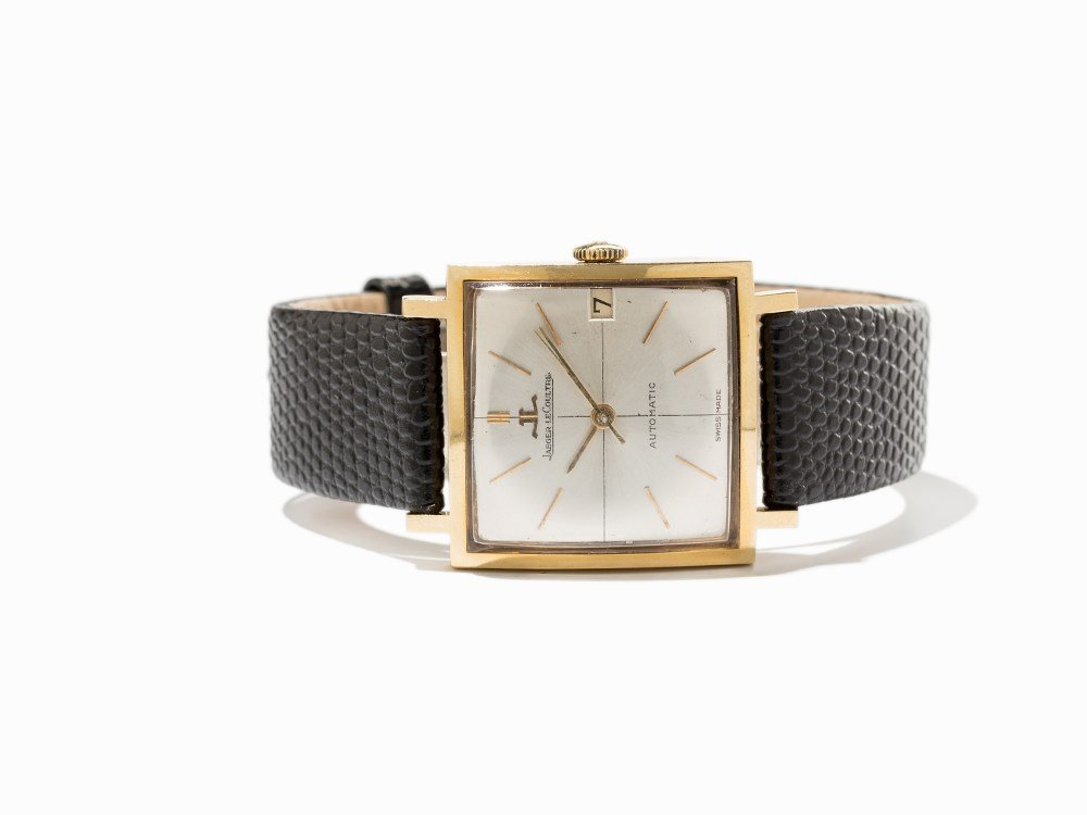 Jaeger-LeCoultre Gold Wristwatch, Switzerland, Around