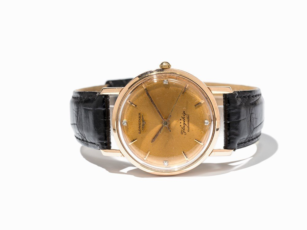 Longines Flagship Wristwatch, Ref. 3503, Around 1961