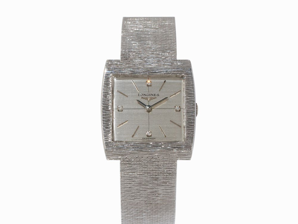 Longines TV Screen Wristwatch, Ref. 7685.12, c. 1970