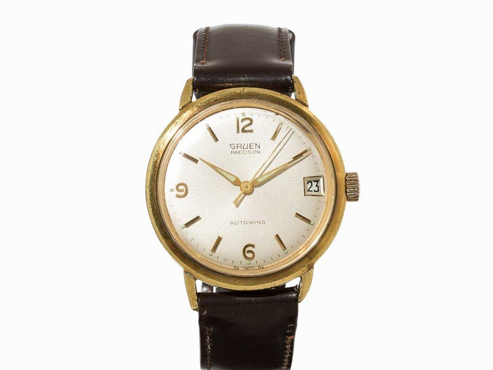 Gruen Precision Autowind Wrist Watch, c. 1960