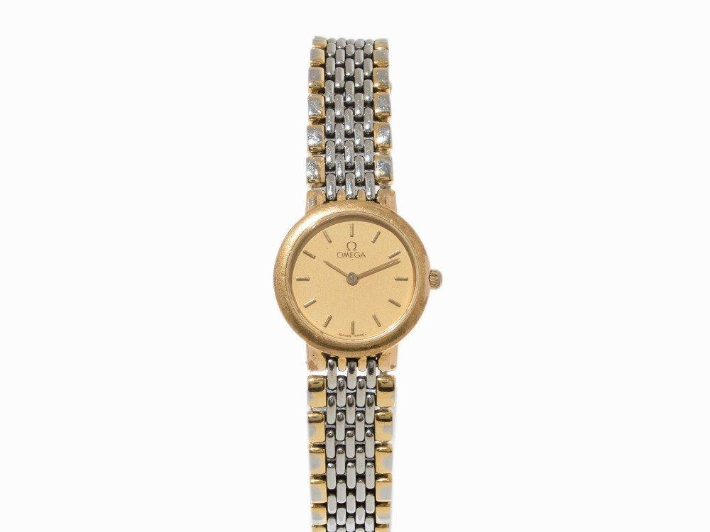 Omega DeVille Lady's Watch, Ref.63001100,1990s