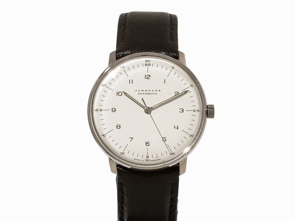 Junghans Max Bill Automatic Watch, 27/3500.00, 1990s