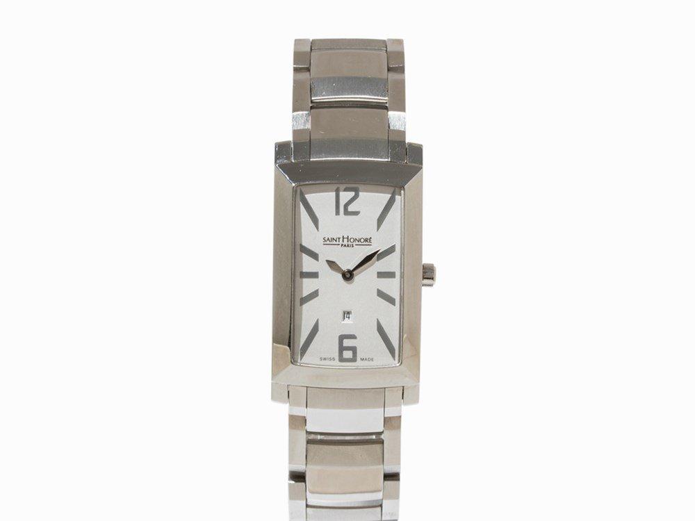 Saint Honoré Quartz Wristwatch with Date, Switzerland,