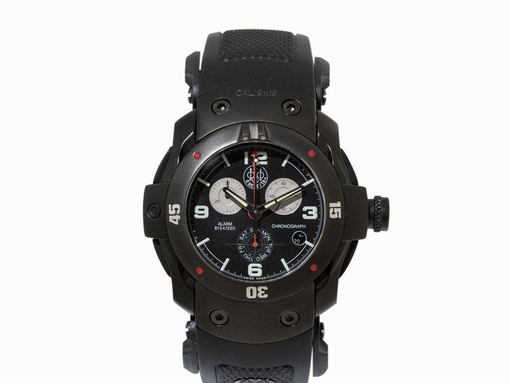 P. Beretta Alarm 8154/220 CAL. 9x19 Chronograph, 2000s