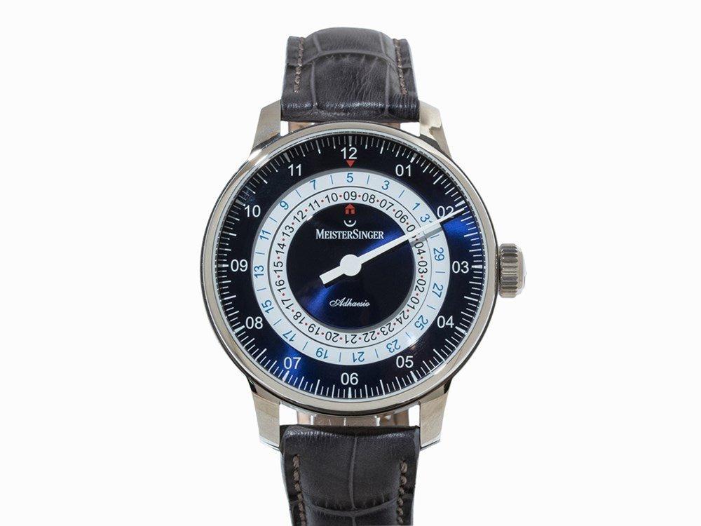 MeisterSinger Adhaesio Wristwatch, ref. AD908, c. 2015