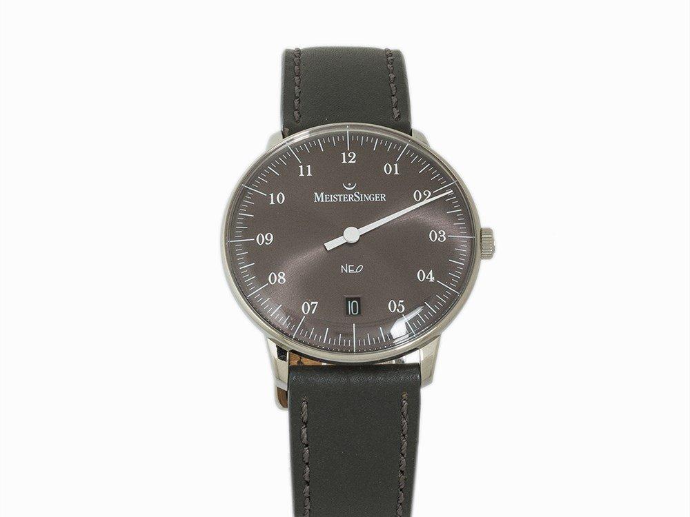 Meistersinger NEO One Hand Automatic Watch, Ref. NE