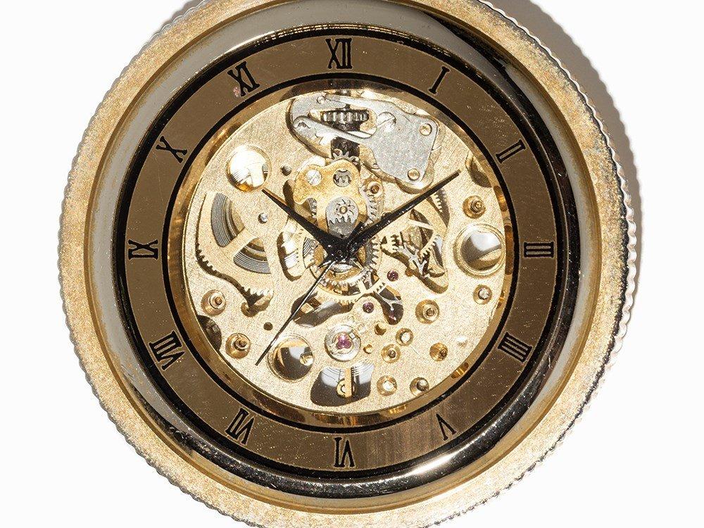 Skeletonized Pocket Watch, Presumably Switzerland, C. - 2