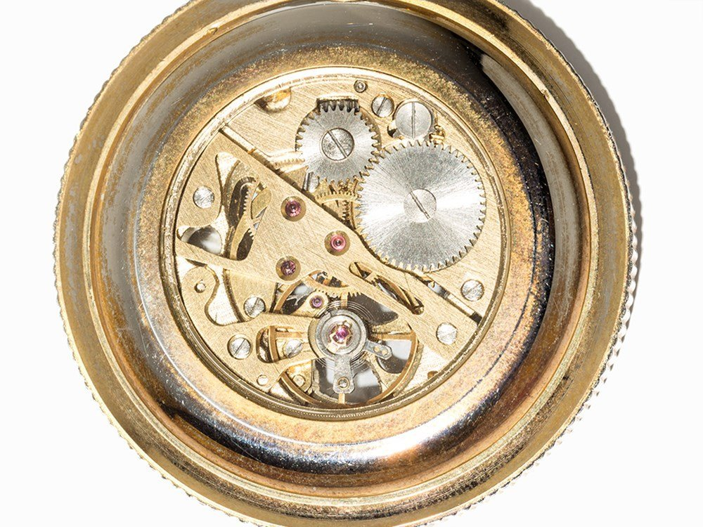 Skeletonized Pocket Watch, Presumably Switzerland, C. - 3