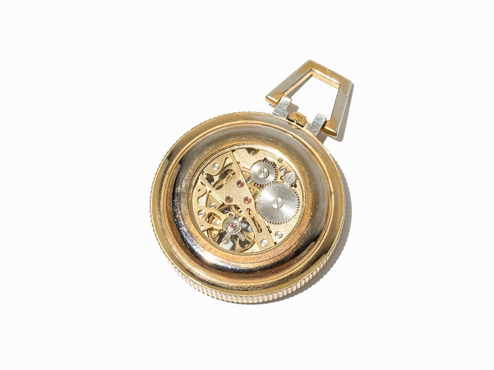 Skeletonized Pocket Watch, Presumably Switzerland, C. - 5