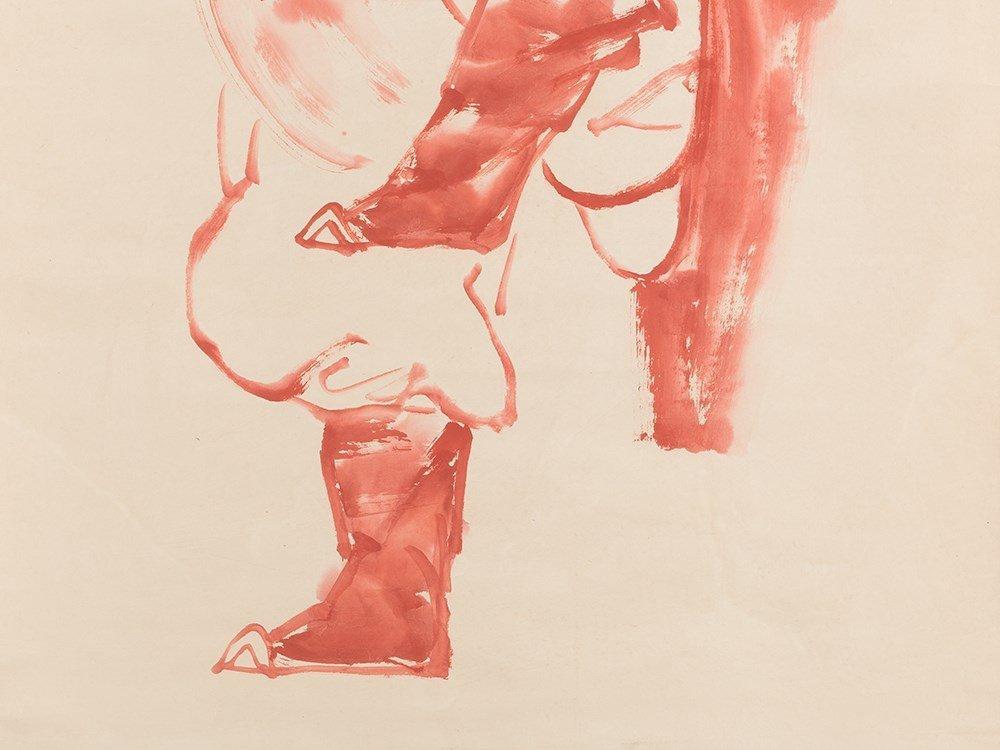 Print, Portrait of Zhong Gui, China, 20th C. - 6