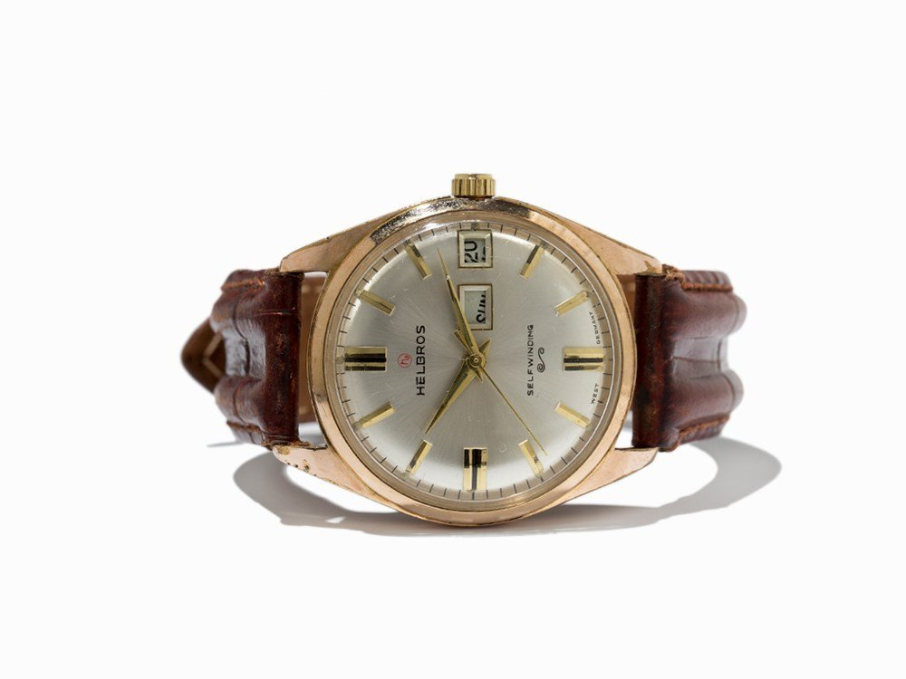 Helbros Self-Winding Day Date Wristwatch, Germany,
