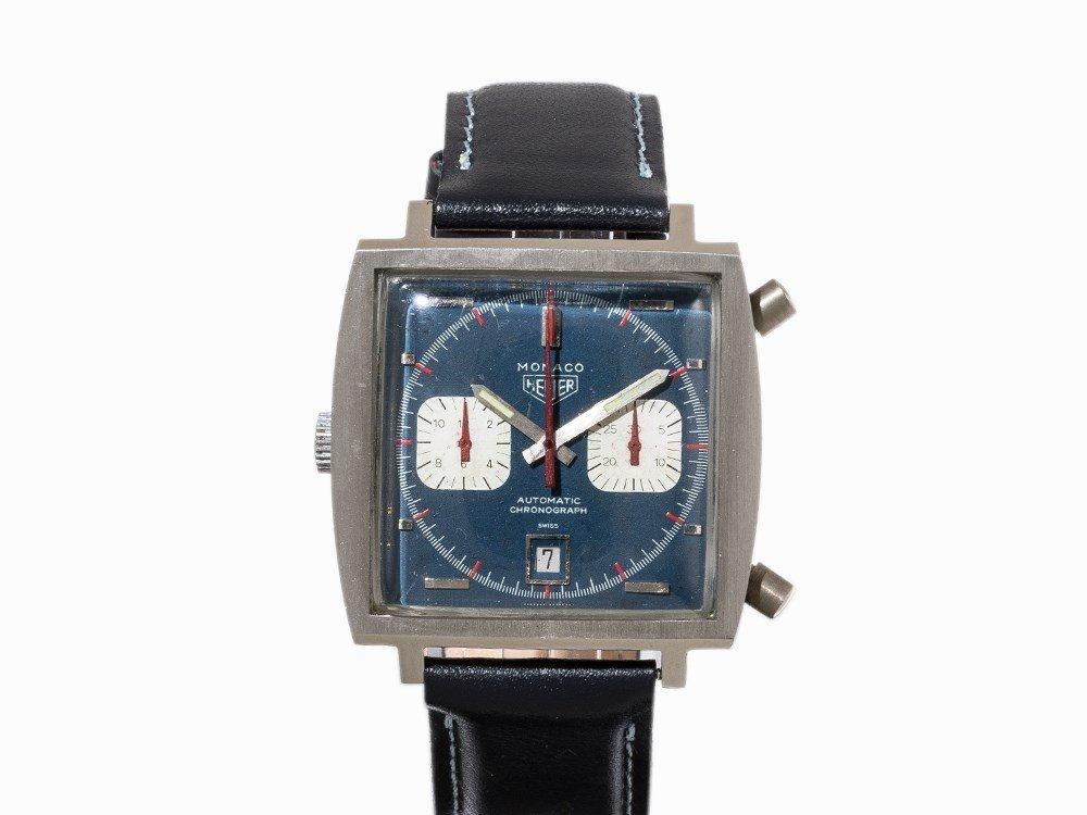 Heuer Monaco Chronograph, Ref. 1133, c. 1972