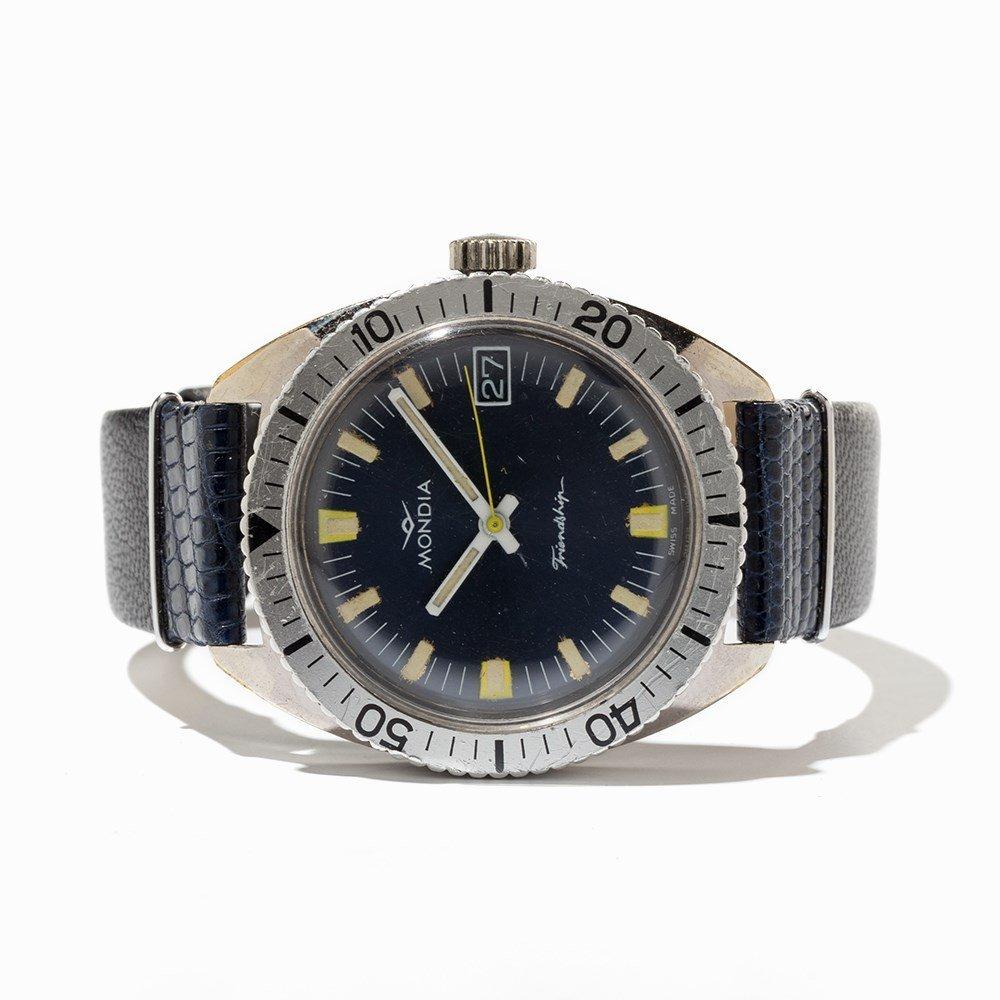 Mondia, Friendship Diver Wristwatch, Switzerland, 1970s - 7