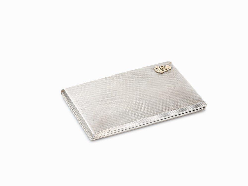 Birks & Toghill & Co., Cigarette Case, Silver, England,
