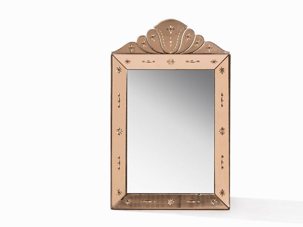 Elegant Mirror, Italy, c. 1950