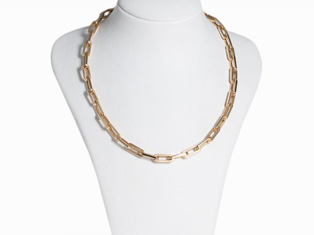 Anchor Necklace and Bracelet, 14K Gold - 2