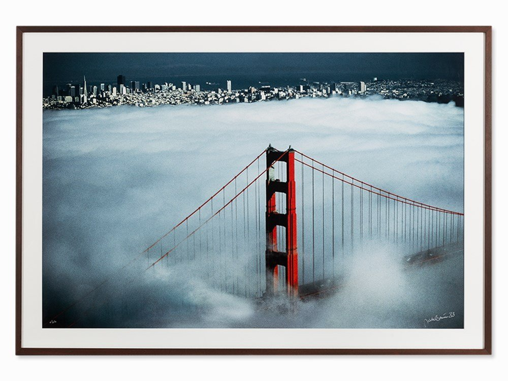 Dieter Blum, Golden Gate Bridge, Digital Print, 1983