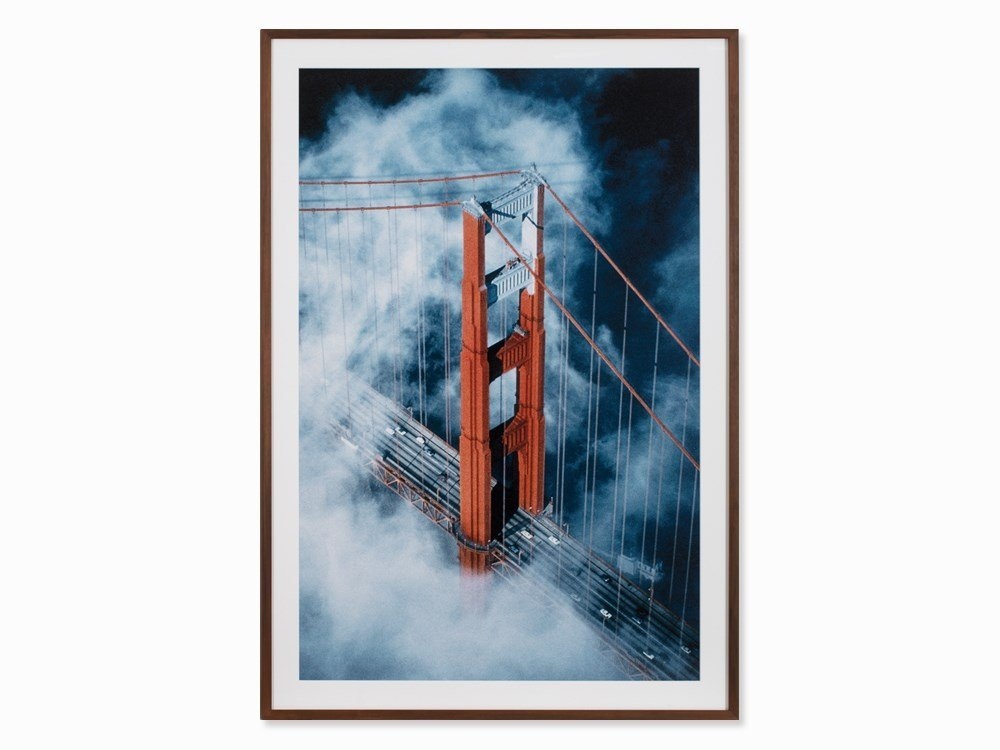 Dieter Blum, San Francisco Bridge, Digital Print, 1983