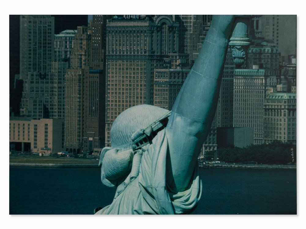 Dieter Blum, NY (Statue of Liberty), Digital Print,