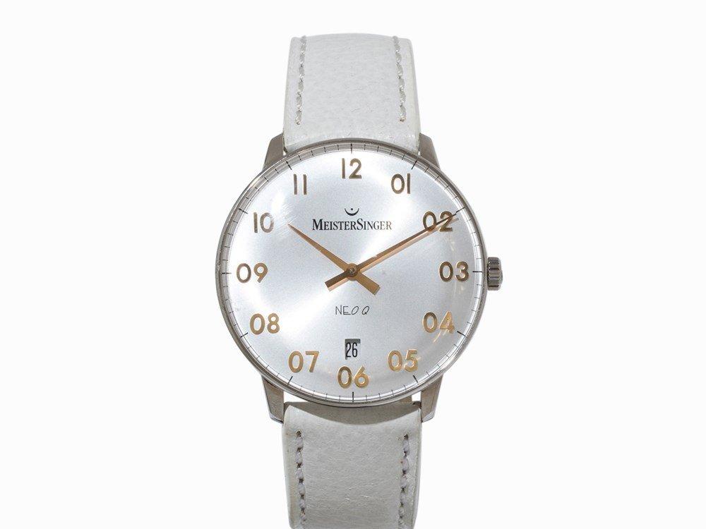 MeisterSinger Neo F 1Z Q Wristwatch, Switzerland, 2000s