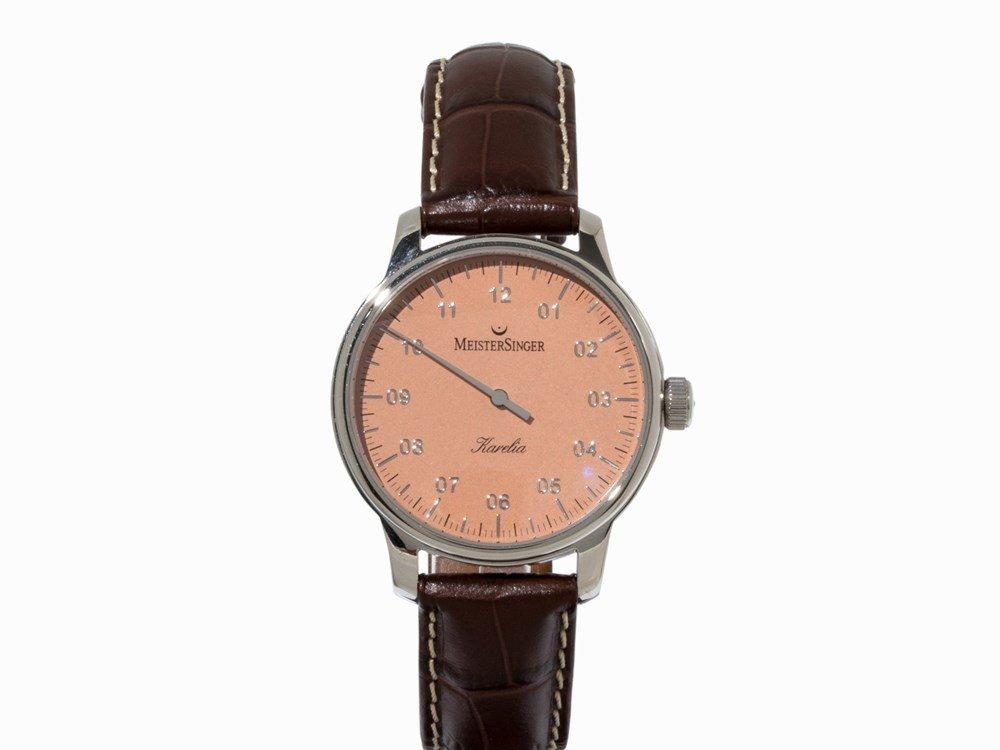 Meister Karelia, Single-Hand Watch, Germany, 2000s