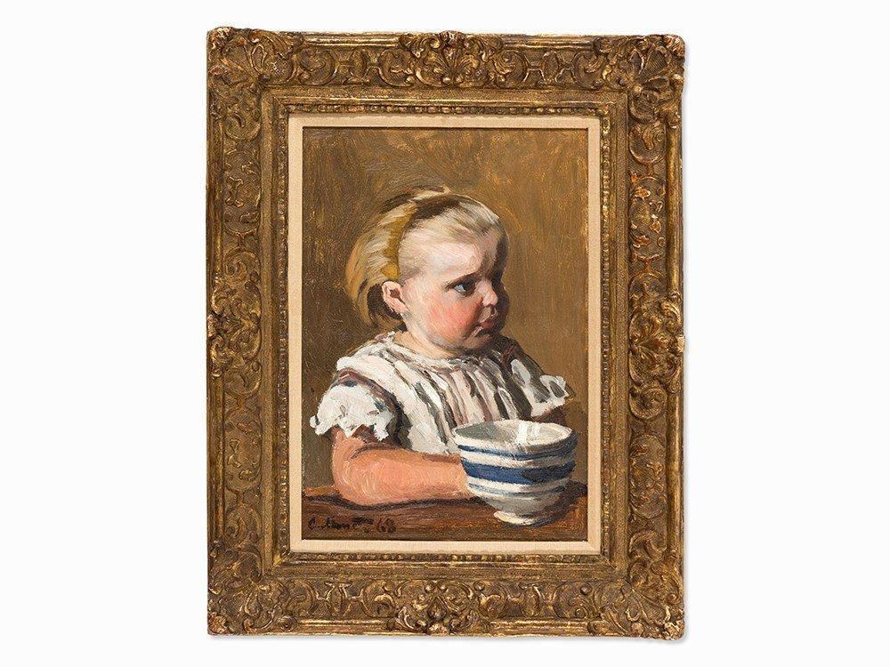 Claude Monet, L'Enfant à la tasse, portrait de Jean