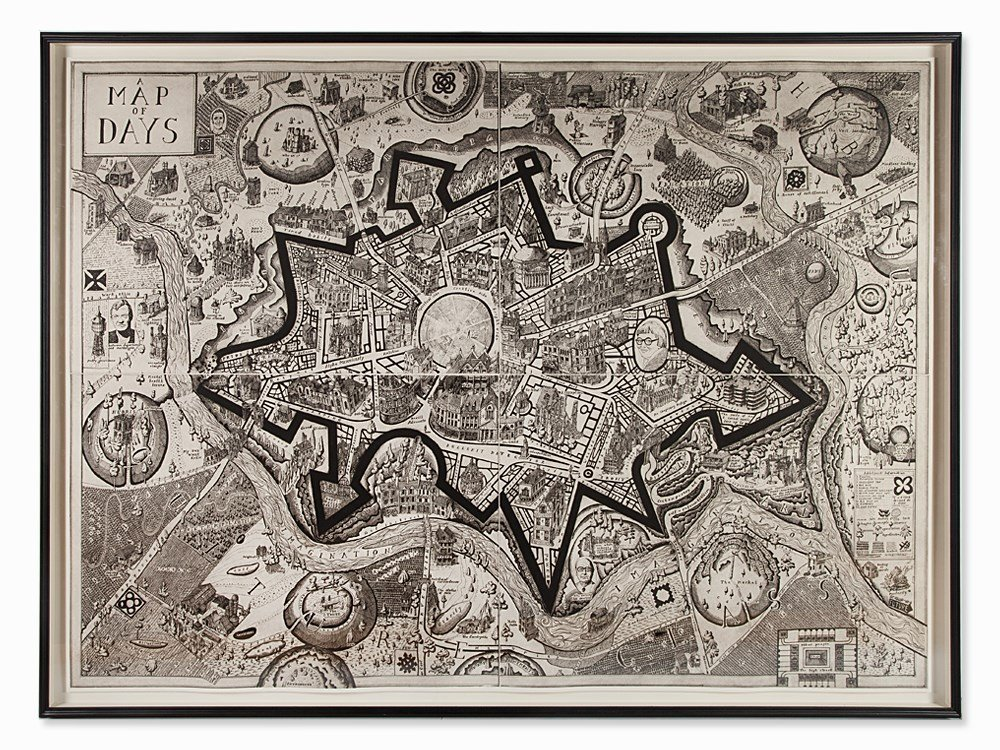 Grayson Perry, Map of Days, 2013