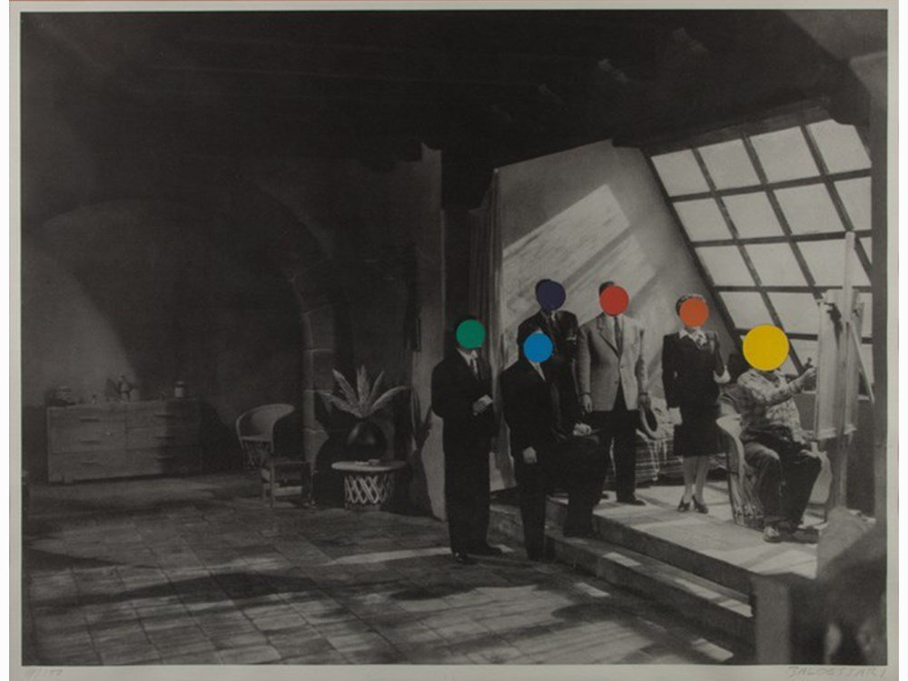 John Baldessari, Studio, 1988