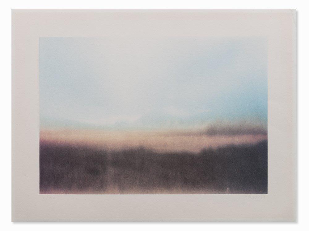 Gerhard Richter, Teyde Landschaft, 1971