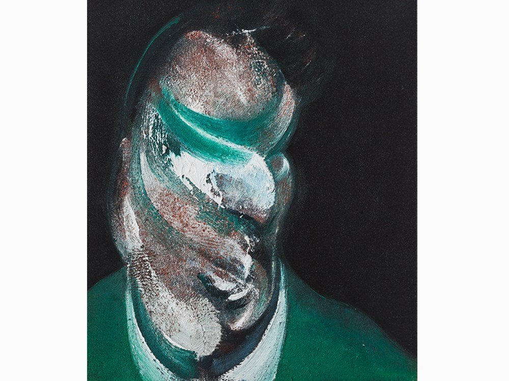 After Francis Bacon, Study for Head of Lucian Freud,